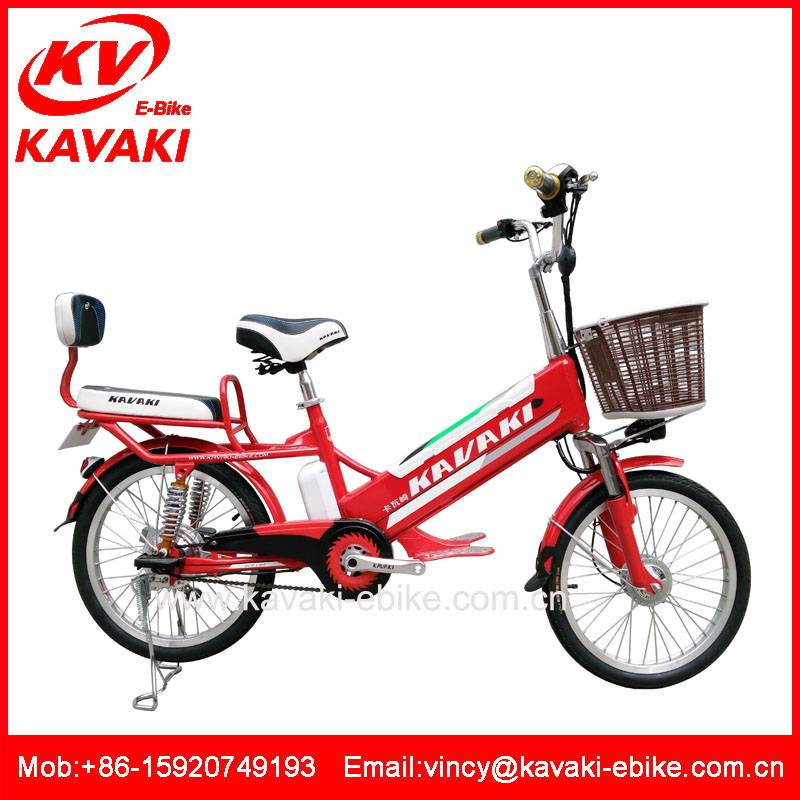 Guangzhou Kavaki Factory supplier lithium battery electric bike bicicleta electrica two wheel bicycl