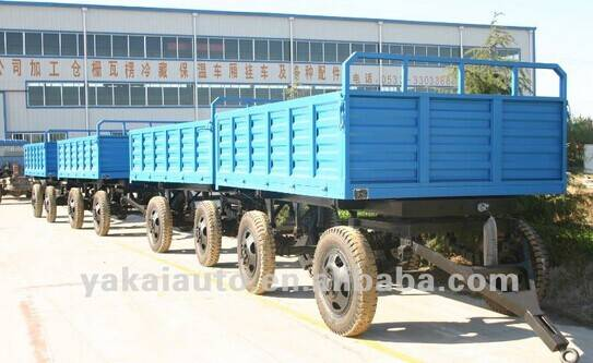 China customized full trailer for sale