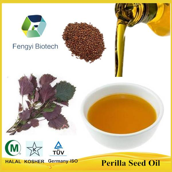 bulk cold pressed edible perilla seed oil (ALA 60%)