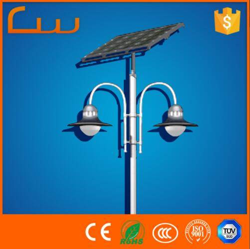 China Gold Supplier factory wholesale 20W -40W garden solar LED light for Garedn,Park
