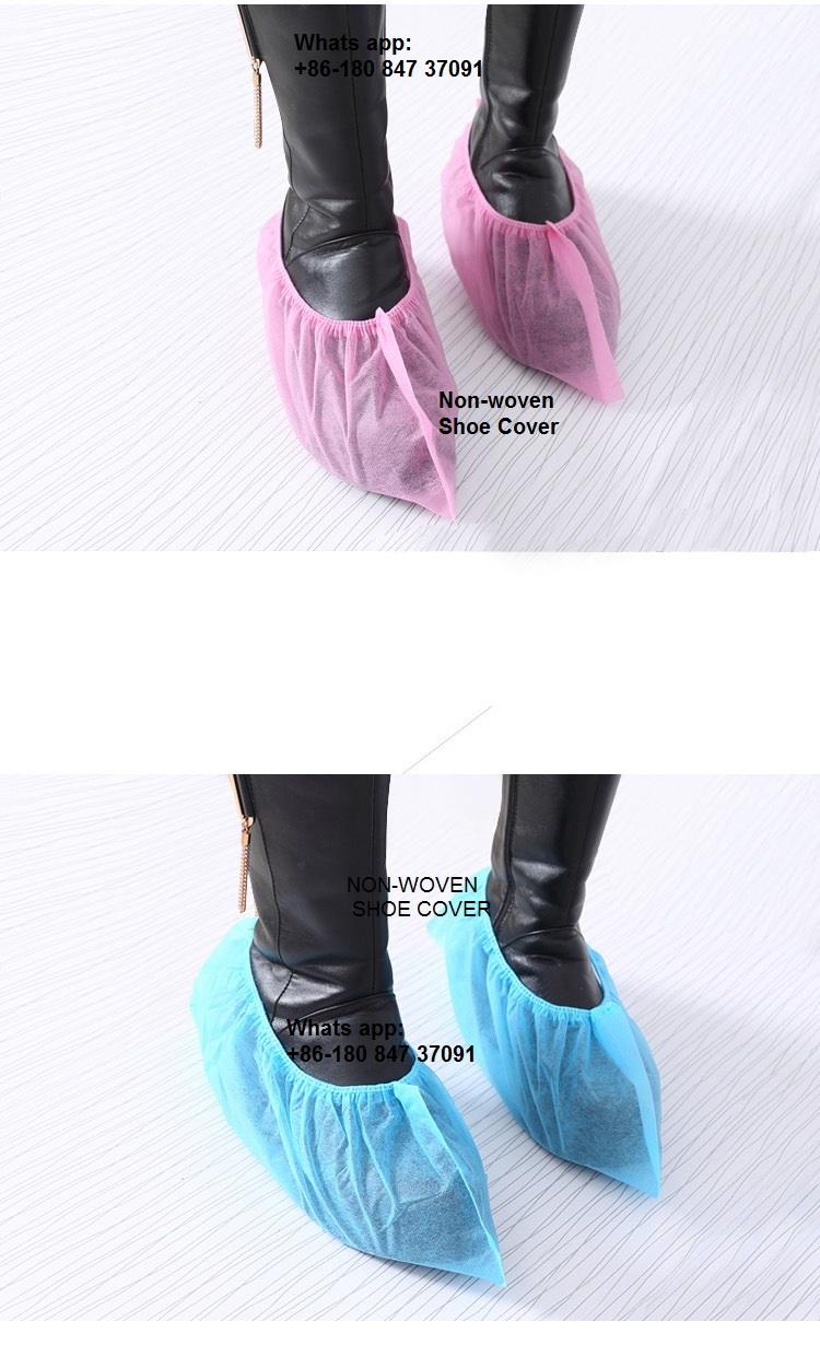 non-woven shoe cover