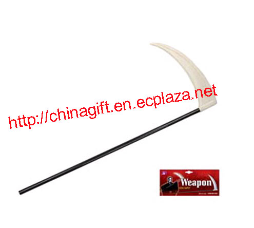 Sickle Weapon for Grim Reaper Death Halloween Costume