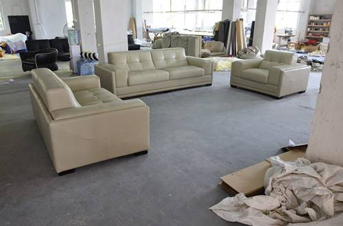Home furniture living room leahter sofa
