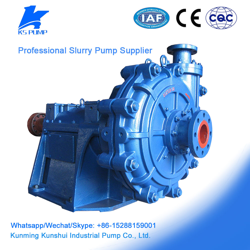 2017 China factory Supply centrifugal gravel pump sand mud mining slurry pump