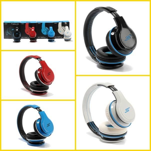 Black/white/red/blue Wireless SMS Audio SYNC by 50 Cent bluetooth 50cent sms by audio headphone for