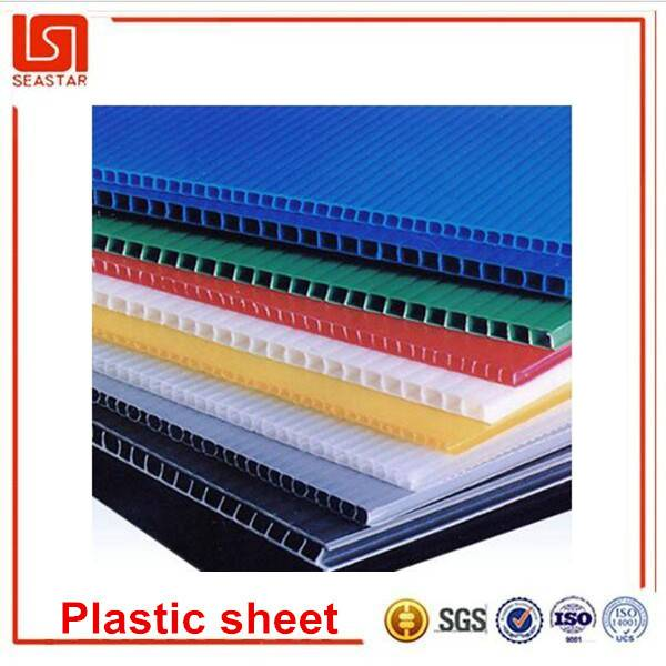 New product China supplier cheapest quality custom recyclable pp plastic sheet