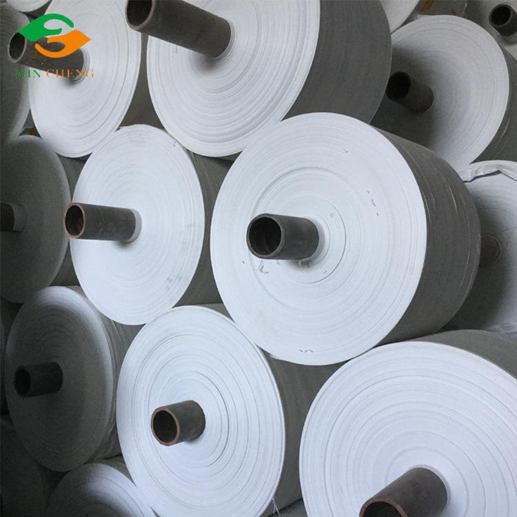 22-75cm white pp woven fabric roll sack roll bag roll