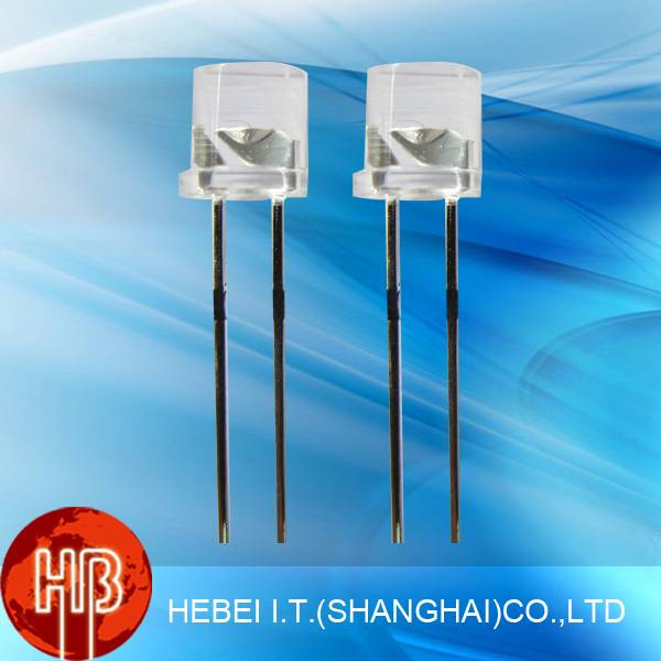 5mm Flat Top Dip Led Diode With Single Color 599LB7C