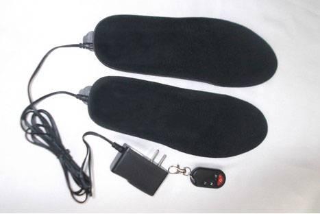 Hot Sale 1750mAh EU / US Remote Control Electric Heated Insoles Warming Insoles