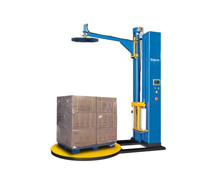 ET300PPS-TP Turntable pallet wrapper with top platen