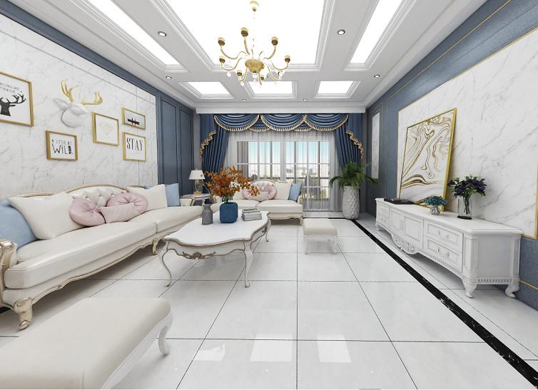 Digital Flooring Tiles Diamond Polished Glazed Porcelain Tiles for Home Decoration (600X600mm)