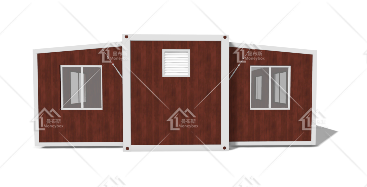 Moneybox folding container home worker camp container living outdoor camping house