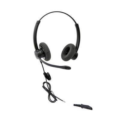 Ergonomic Design Corded Headset WIth Adjustable Headband,Comfortable For Use
