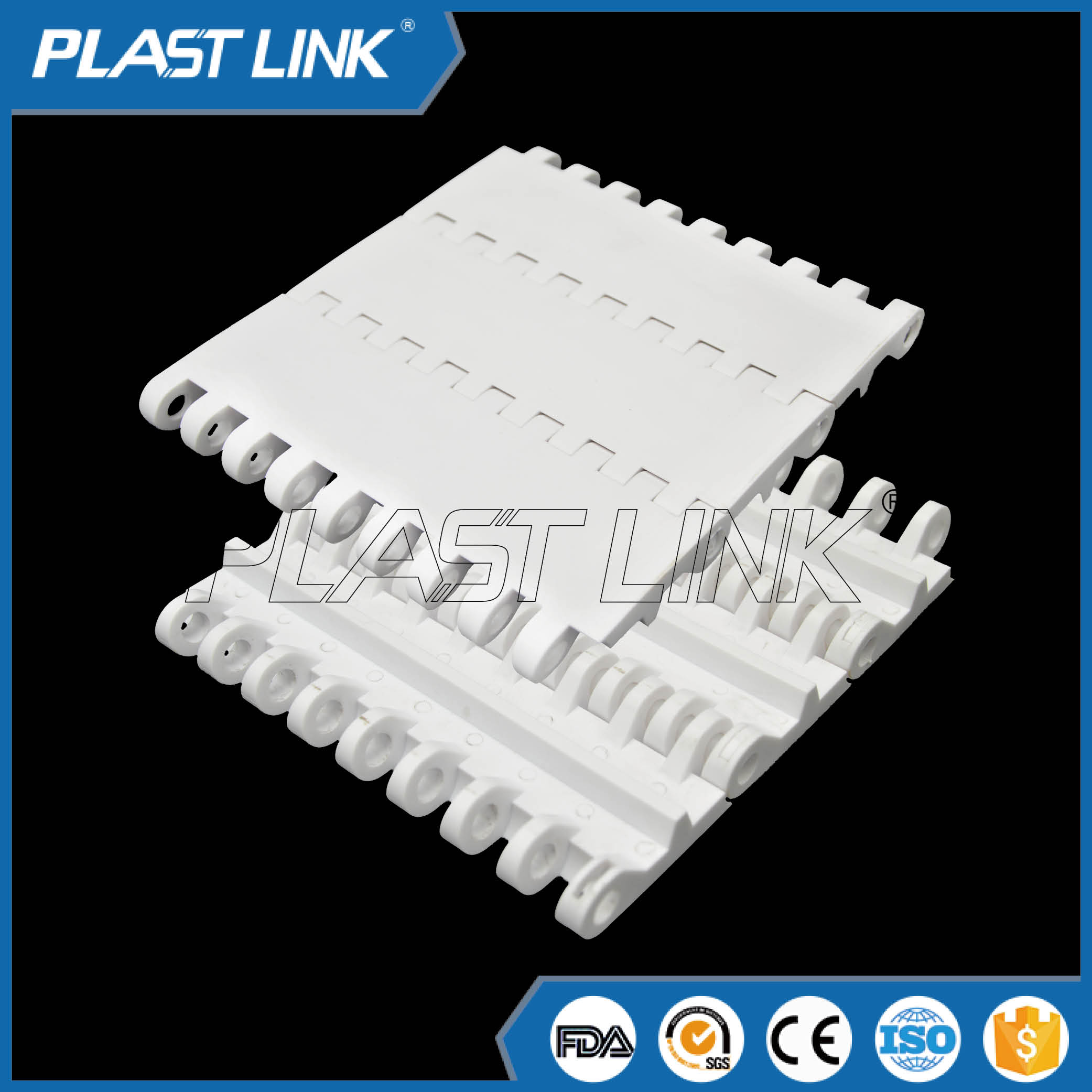 PlastLink 800modular conveyor belt made in chain