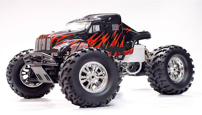 1/8 gas nitro monster truck