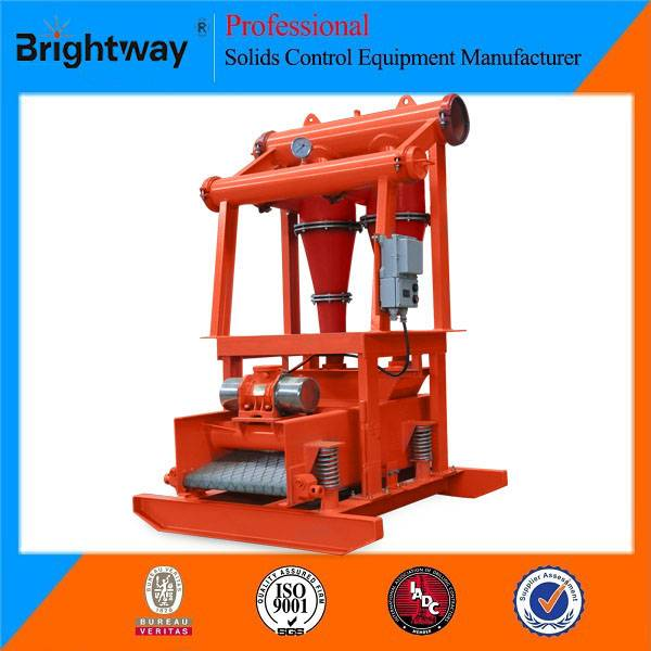Brightway Solids Oilfield Drilling Mud Hydrocyclone Desander