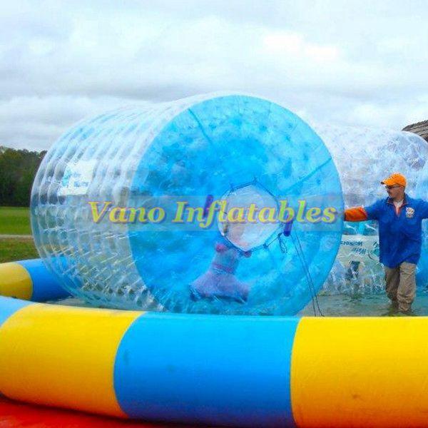 WaterRollers ZorbRamp Water Roller Inflatable Wheel Water Walker Bubble Zorb Rolling Ball