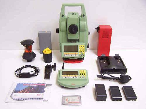 Leica TCRA1105 Total Station Surveying Equipment