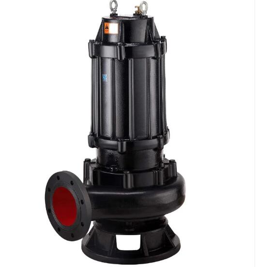 Non-block sewage submersible water pump