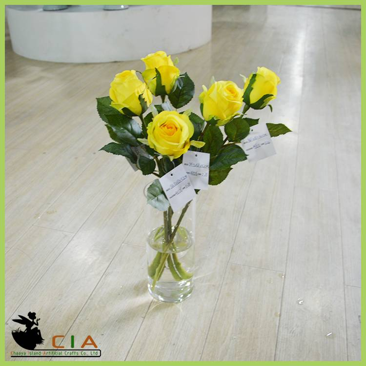 Hotsale Table Wedding Decoration Artificial Flowers , Wedding Decoration Flower