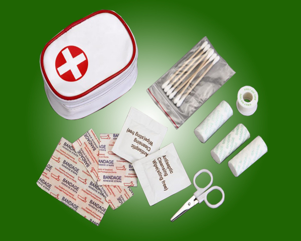 First Aid Kit for hospital use , camp, travel, workplace, home, car, K001 with ISO,CE,