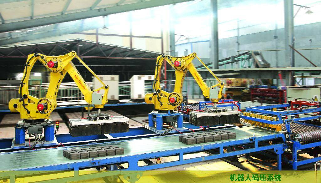 Automatic Stacking System/ Brick Machine