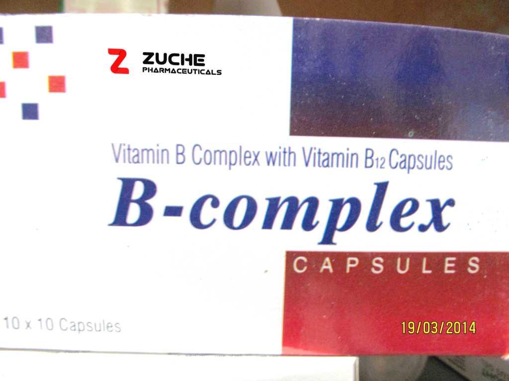 Vitamin B Complex with Vitamin B12 Complex