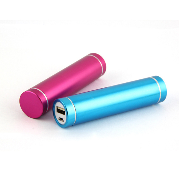Wholesale cyliner power bank 2600mah manual for power bank