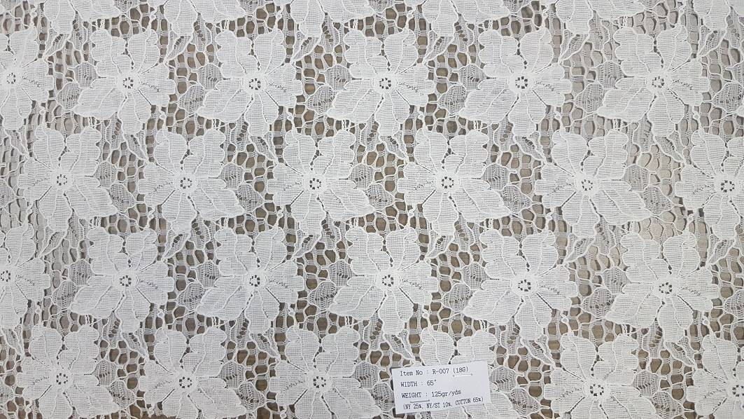 Raschel Lace or Lace fabric