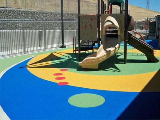 epdm rubber infant floor