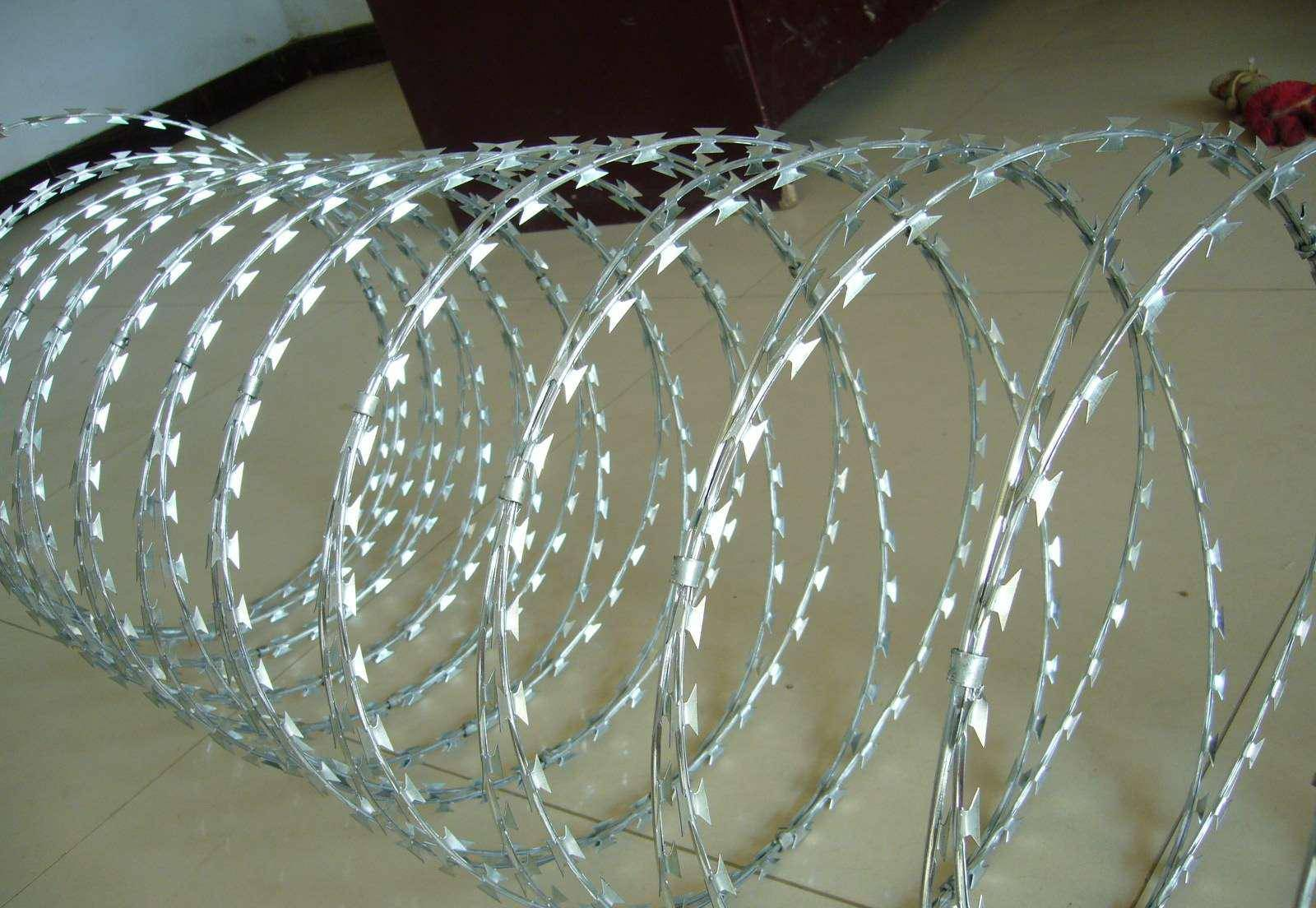 CONCERTINA WIRE BARBED