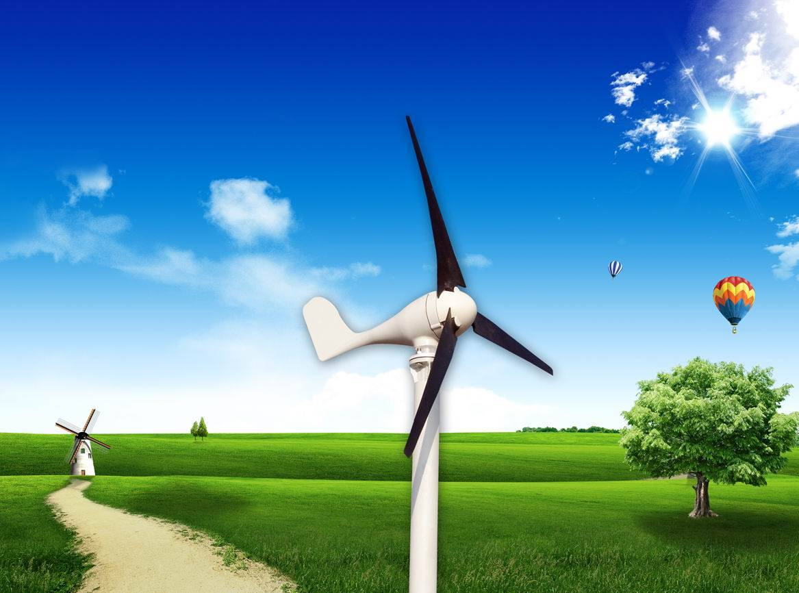 100W SMLL WIND POWER GENERATOR