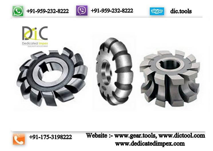 Concave & convex milling cutter