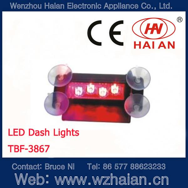 Windshield warning lights