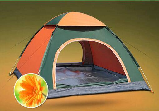 Full-automatic camping tent