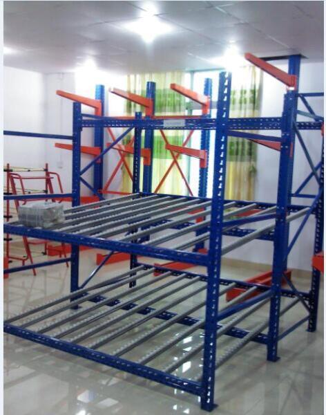 Warehouse roller rack system warehouse shelving rack