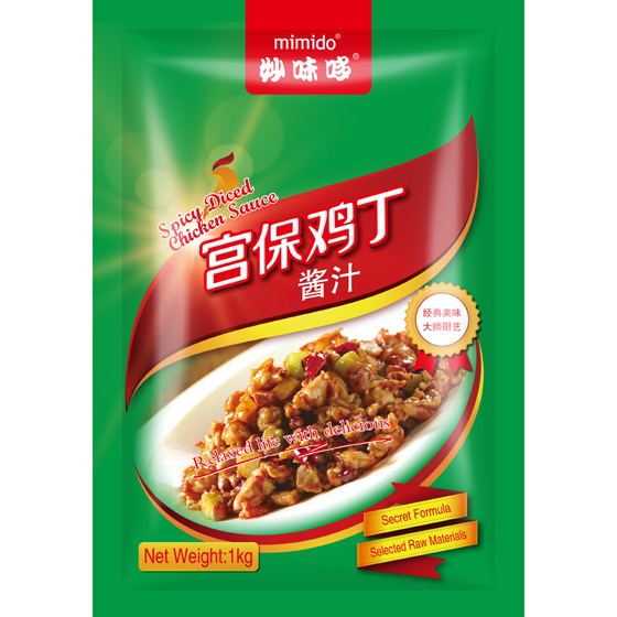 MIMIDO Spicy Diced Chicken Sauce kung pao chicken