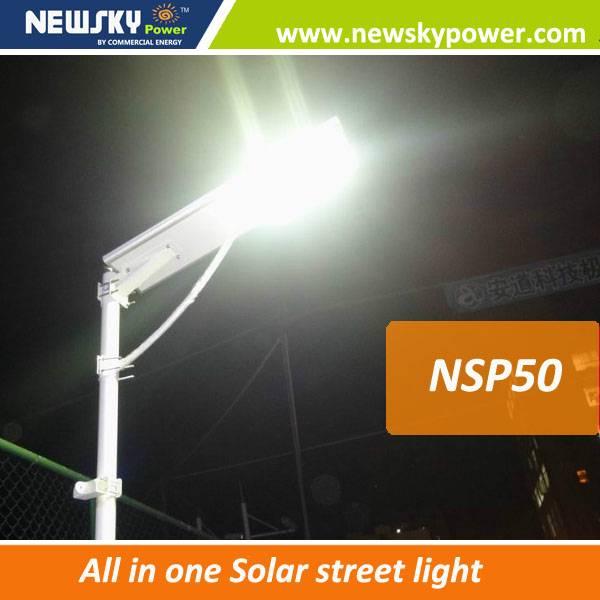 all in one solar street light rechargeable battery for solar led street light