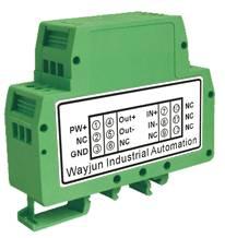 0-10v/0-3v to 4-20ma,DIN35 signal converters