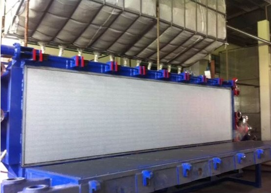 EPS Automatic Air Cooling Block Moulding Machine