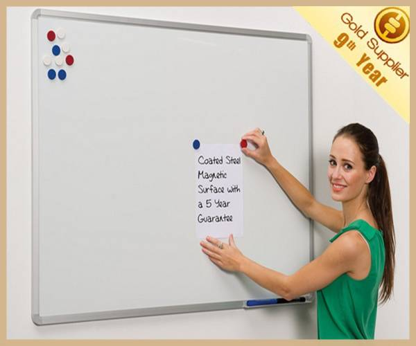 60*45cm office supplier magnetic writing white board standard size