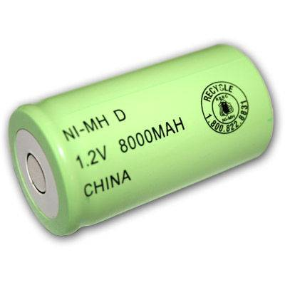 1.2V 62D4000mAh 5000mAh 7000mAh Nimh battery