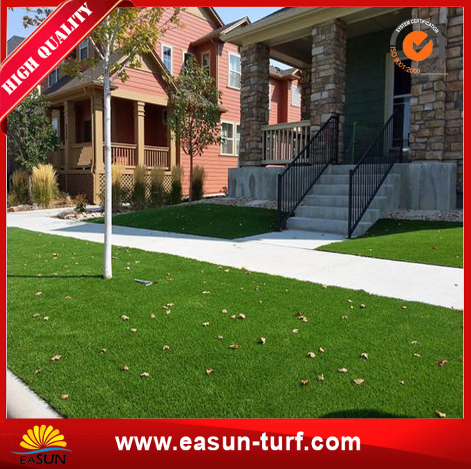 Hot Sale Garden Decoration Artificial Carpet Synthetic Grass-MY