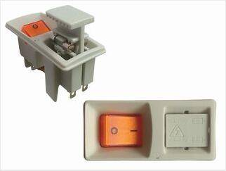 illuminated or Non-lighted socket Fuseswitch with A High Power Switch Plus A Twin-fuse Holder