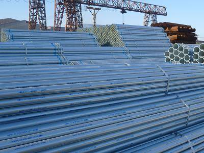 Hot dipped galvanized round ERW/LSAW welded steel pipes