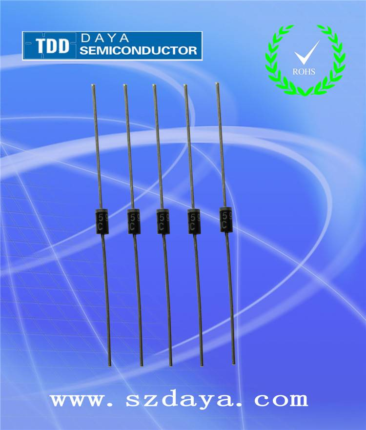 High Quality DIP Diodes 1N4001-1N4007