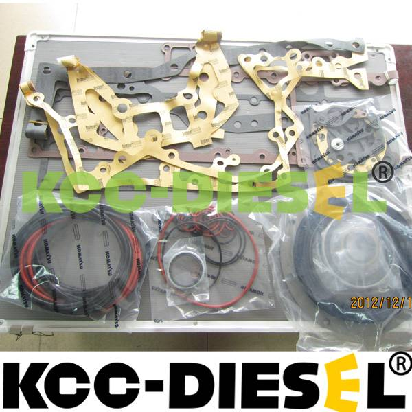 Komatsu S6D170 overhaul gasket kit, cummins M11 full gasket kit, caterpillar 320D head gasket kit