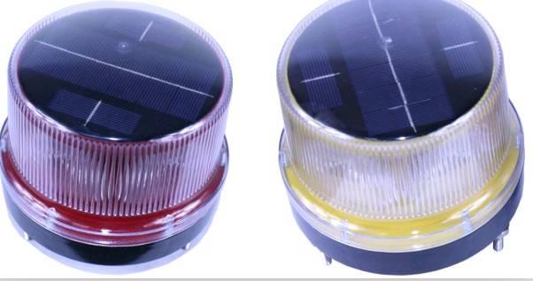 2014 High Efficiency Solar Traffic Warning Light