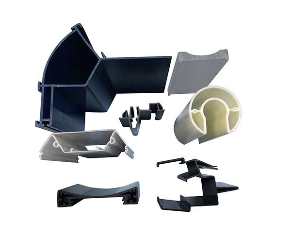 Extrusion and Injection Plastic ProfilesPlastic extrusion profile