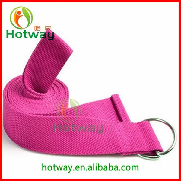 Good Design Yoga Belt Yoga Training Strap Yoga Strap Belt with D-ring Buckle